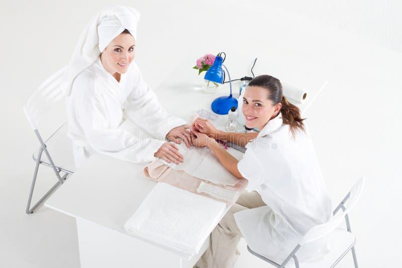Manicure stock afbeelding