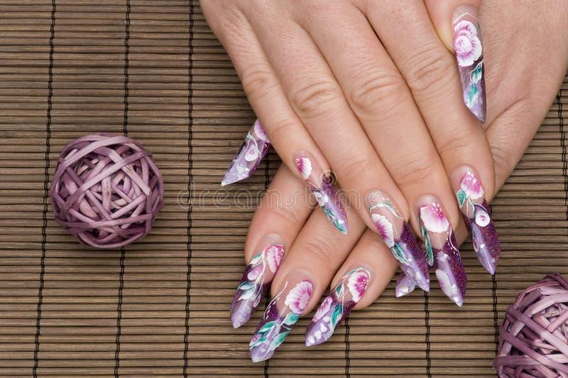 Manicure fotografie stock