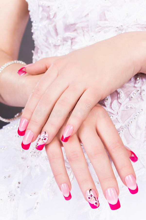 Manicure royalty free stock photos