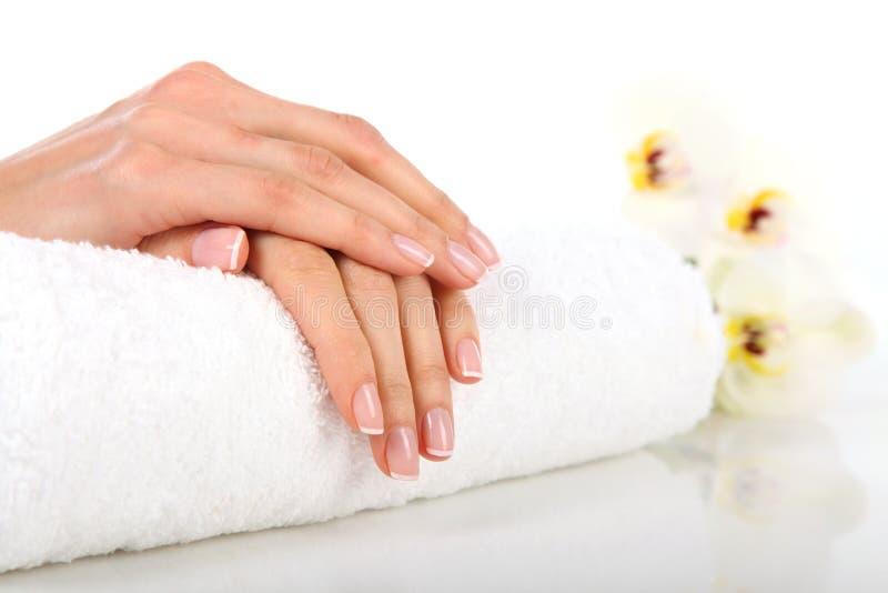 Manicure obrazy stock