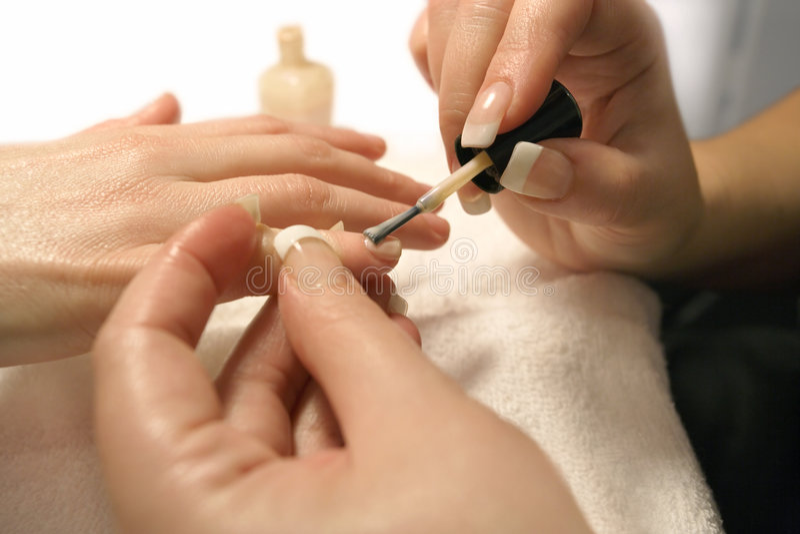 Manicure 3 fotos de stock royalty free