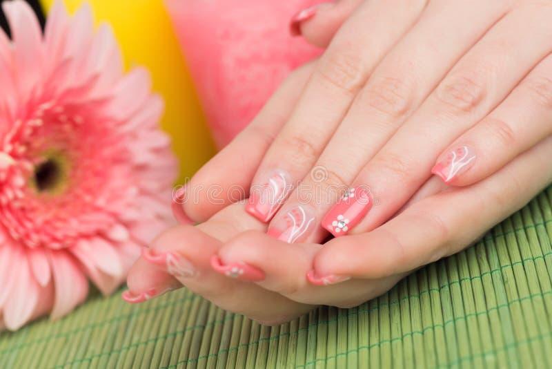 manicure obraz royalty free
