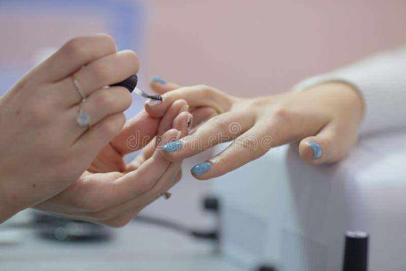 manicure fotografia de stock