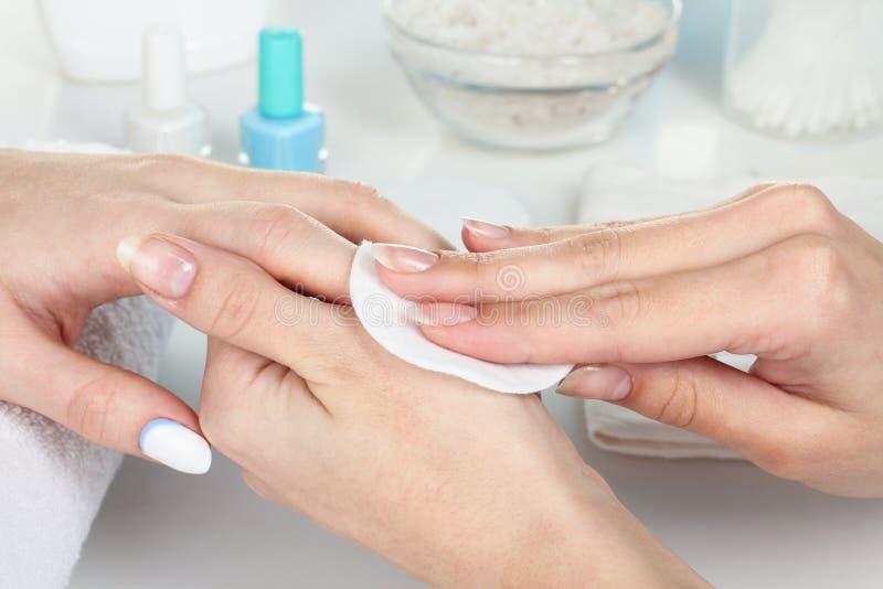 manicure royalty-vrije stock fotografie