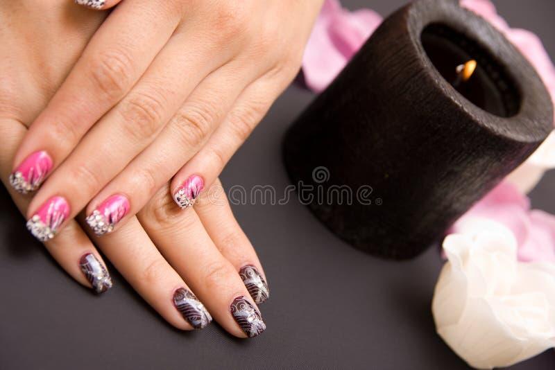 manicure стоковое фото rf