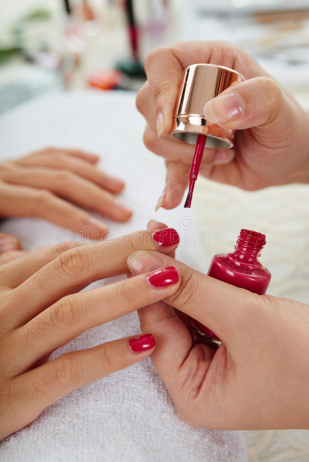 Manicure classico fotografia stock libera da diritti