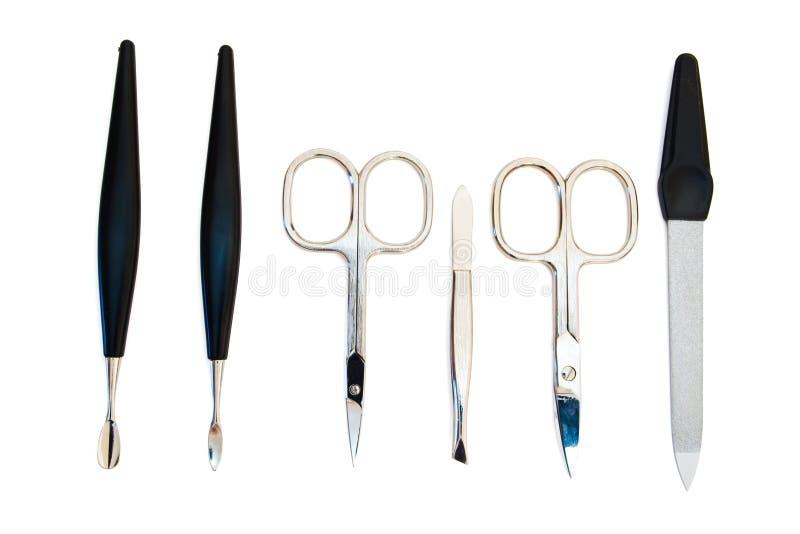 manicure narzędzi zdjęcie stock
