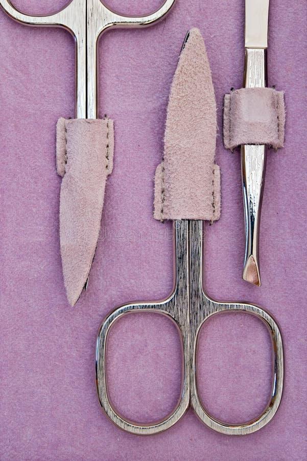 manicure nożyczki zdjęcia stock