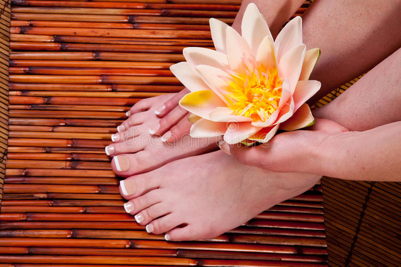 Download Manicure and pedicure stock image. Image of feet, fingernail - 13673011