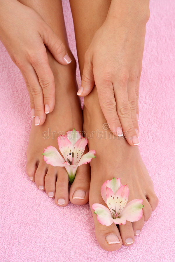 Download Manicure and pedicure stock image. Image of comfortable - 4305867