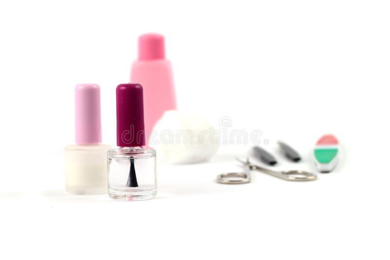 A manicure set royalty free stock image