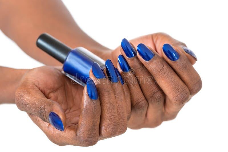 Manicure'u i makeup pojęcie zdjęcie royalty free