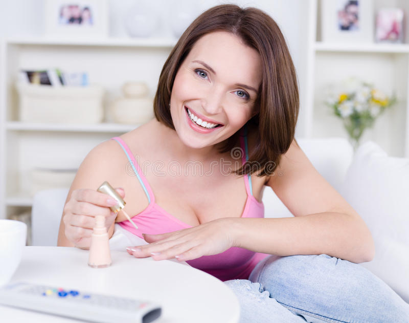 Download Manicure for woman stock photo. Image of beautiful, leisure - 14057454
