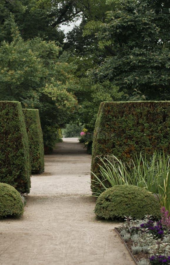 Manicured Garden Stock Photo