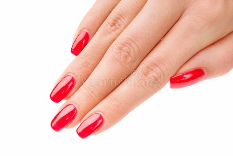 Manicured nails stock photo. Image of female, pure, glamour - 35201548