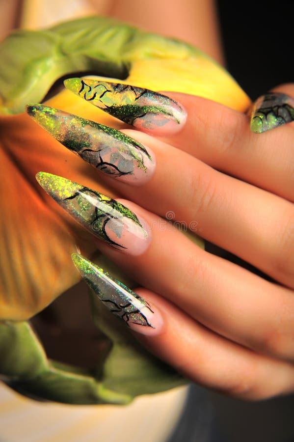 Manicures royaltyfria foton