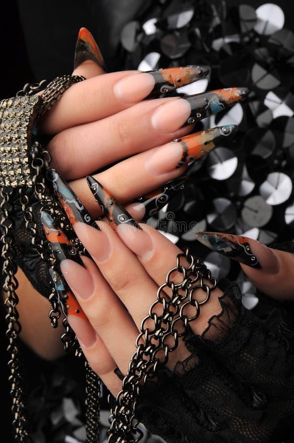Manicures imagem de stock