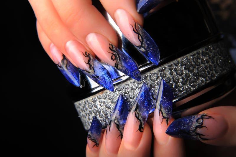 Manicures imagem de stock royalty free