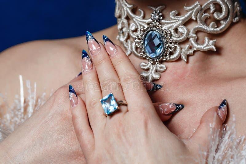 Manicures en Juwelen stock foto's