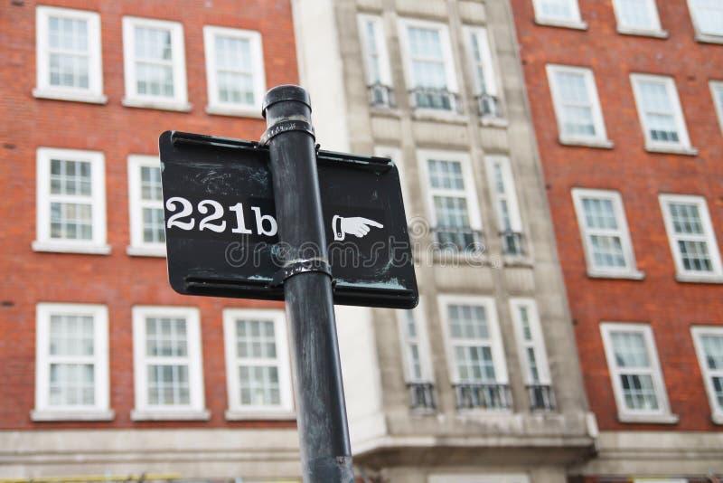 Manier aan Sherlock Holmes royalty-vrije stock foto