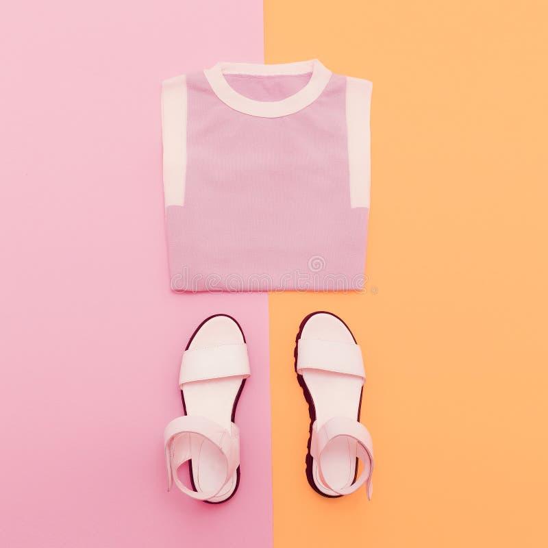 Manier Dame Clothes stock fotografie