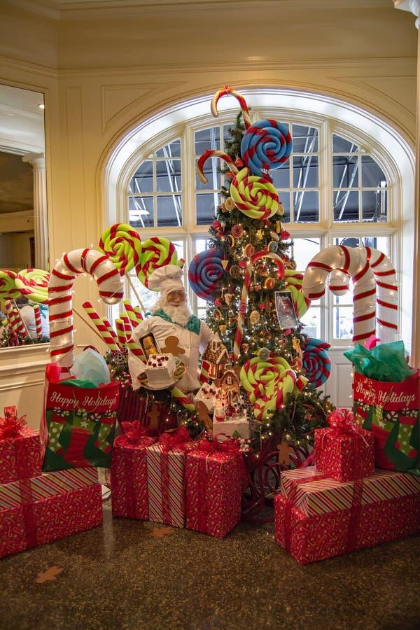 """Manieren voor Evergreens bij the"""" Hotel Roanoke†, 2016 royalty-vrije stock fotografie"""