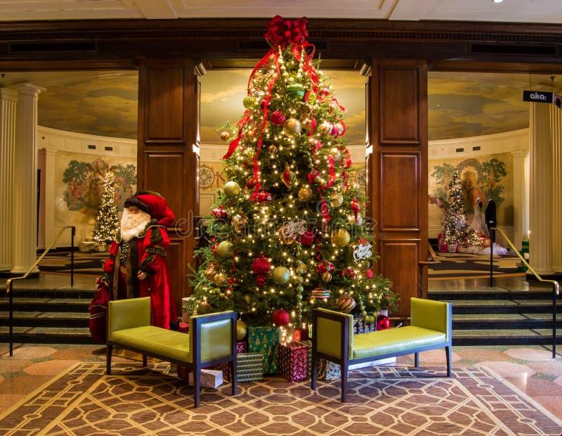 """Manieren voor Evergreens bij """"Thehotel Roanoke† stock foto's"""