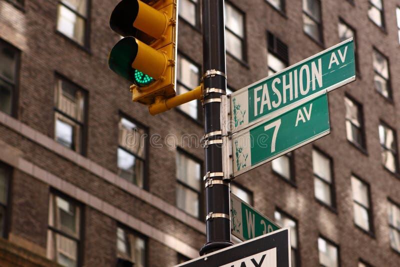 Manierweg in de uit het stadscentrum Stad van New York stock fotografie