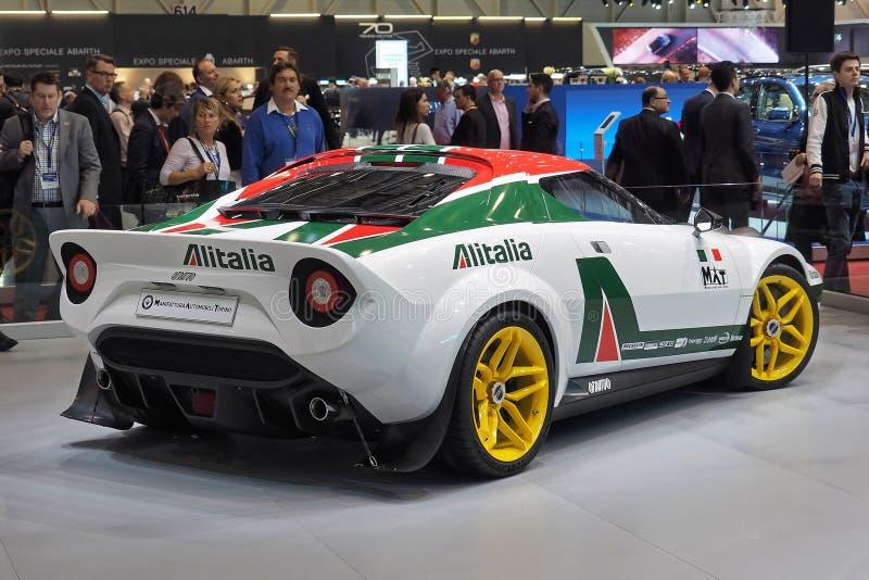 89th Geneva International Motor Show - New Stratos stock photos