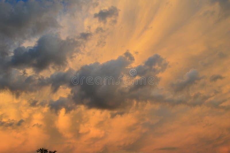 Manifestação celestial imagem de stock