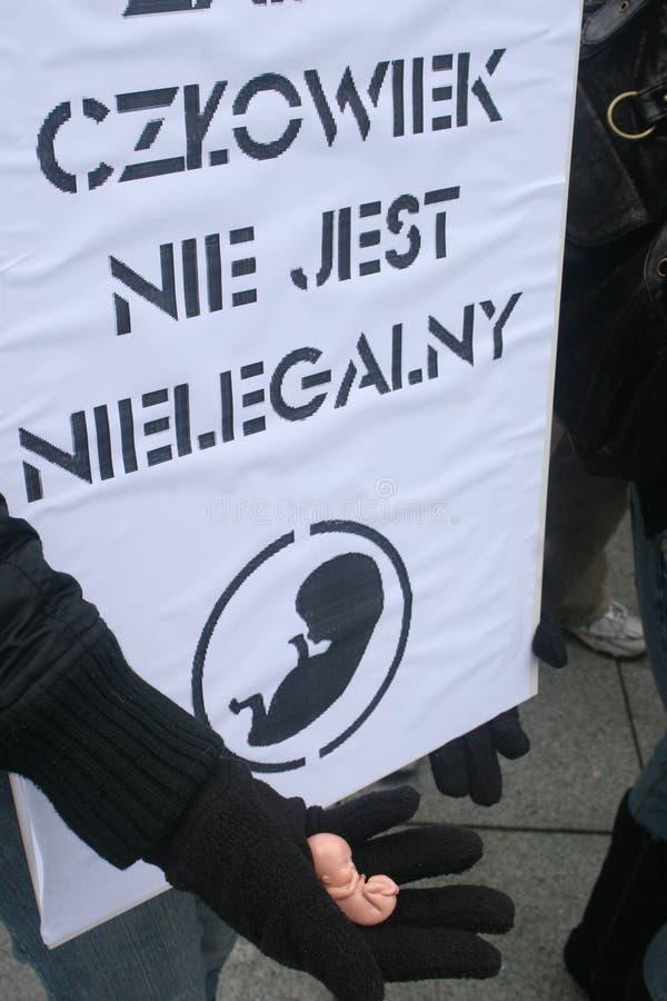 Manifestatie stock fotografie