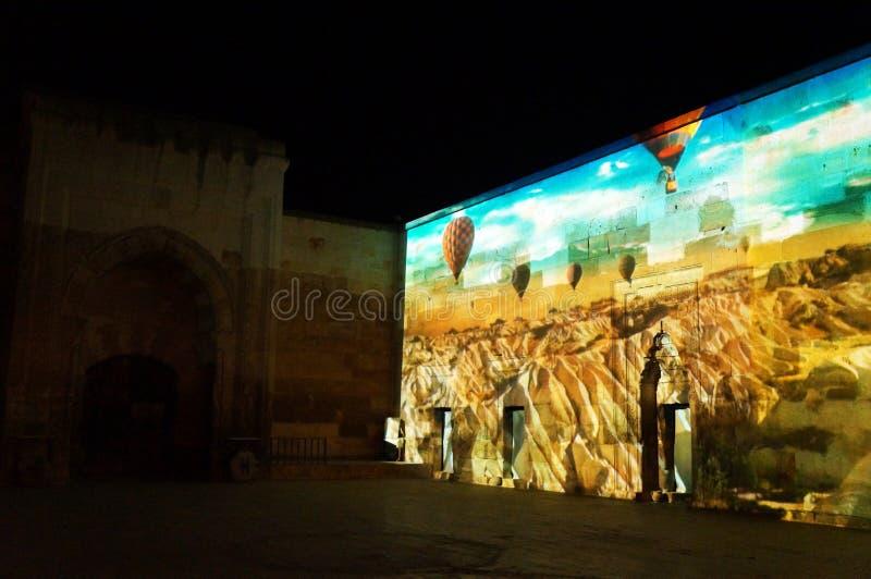 Manifestazione di Cappadocia Sema fotografia stock