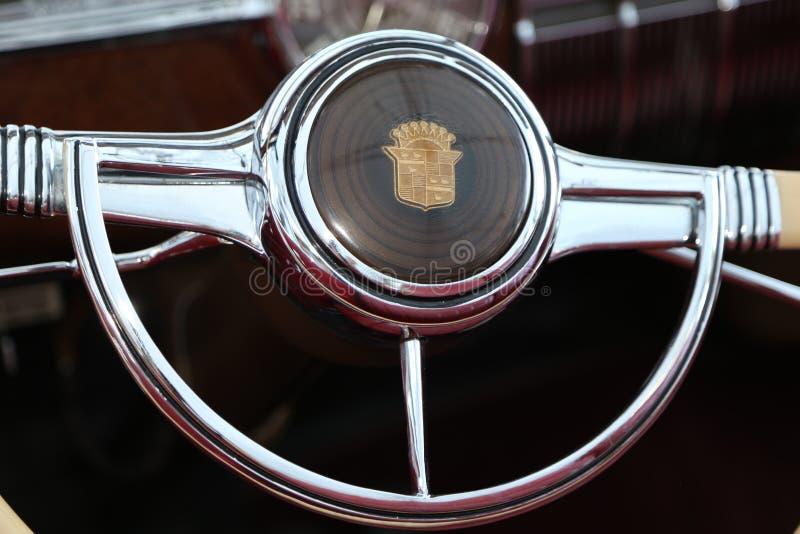 Manifestazioni di automobile classiche della celebrità fotografie stock libere da diritti