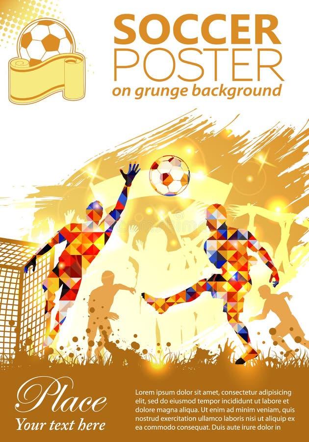 Manifesto di calcio