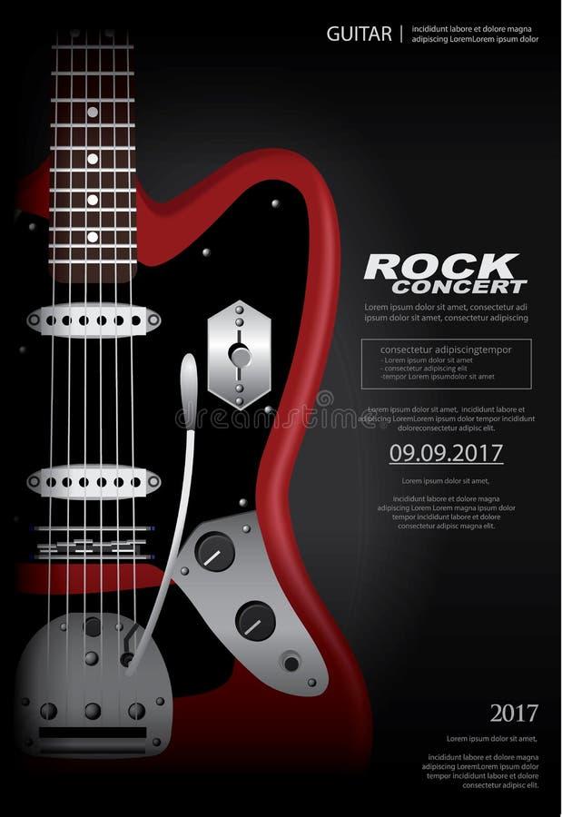 Manifesto di concerto rock royalty illustrazione gratis