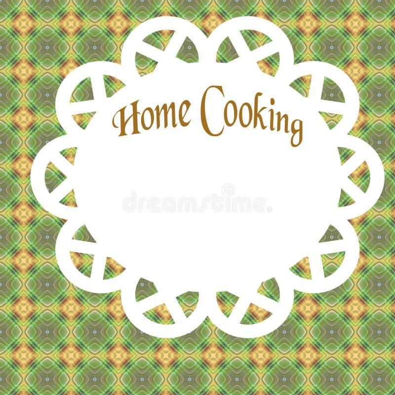 Manifesto di cottura domestica royalty illustrazione gratis