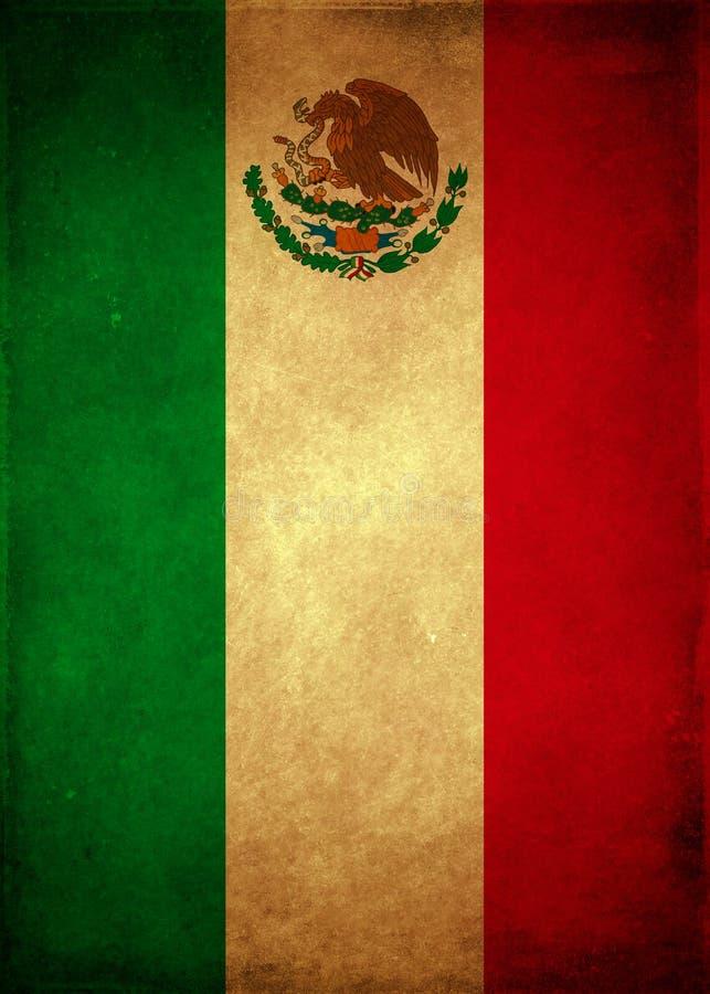 Manifesto messicano d'annata - modello della carta royalty illustrazione gratis