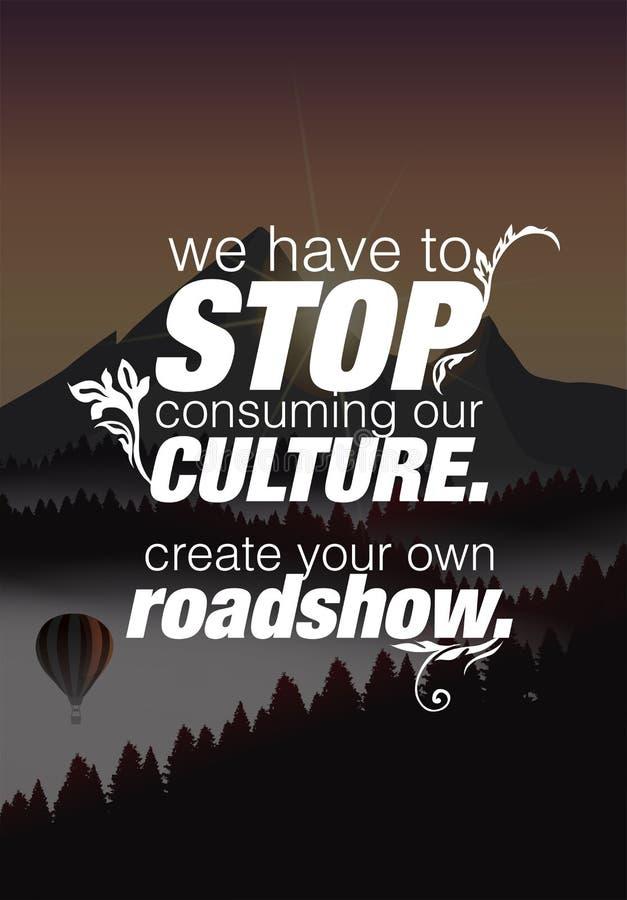Manifesto motivazionale di citazione royalty illustrazione gratis