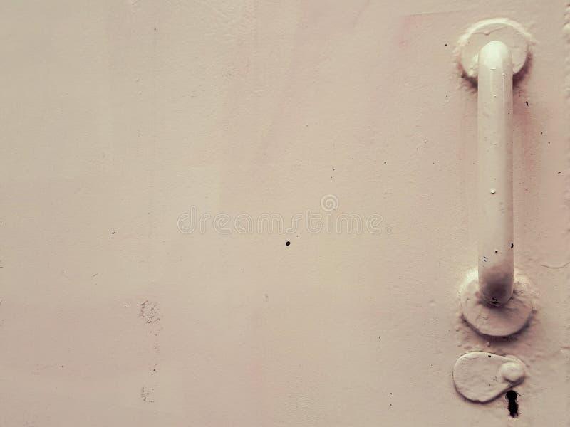Manija en puerta fotografía de archivo