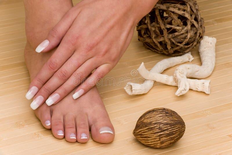 Maniküre-Pedicure lizenzfreies stockbild