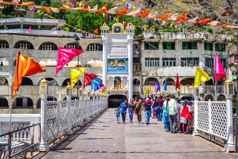 Manikaran Himachal Pradesh Индия стоковые изображения