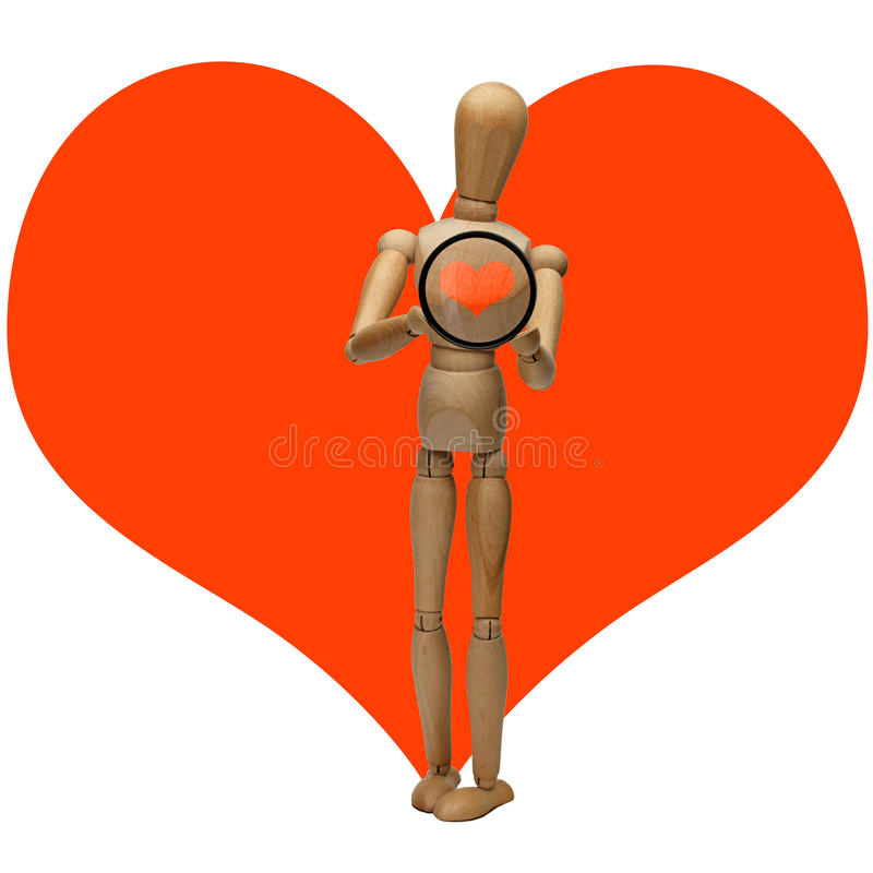 Free Manikin And Heart Stock Photo - 26045770