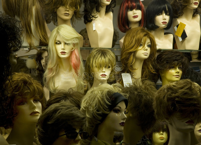 Download Manikin heads stock image. Image of glamour, girls, close - 5727521