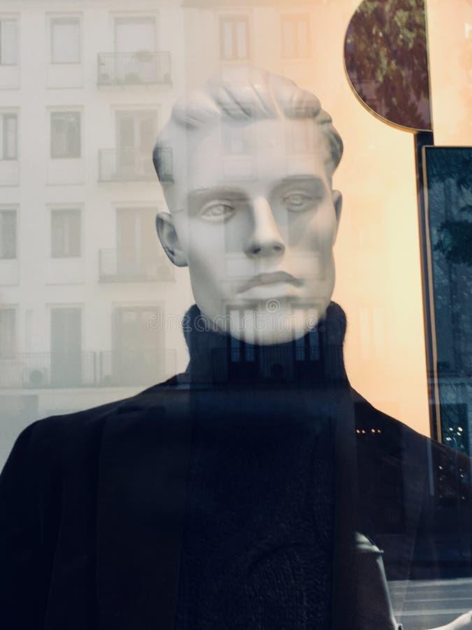 Manikin twarzy moda obrazy stock