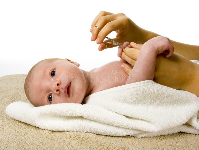 manikiur s del bambino fotografia stock libera da diritti