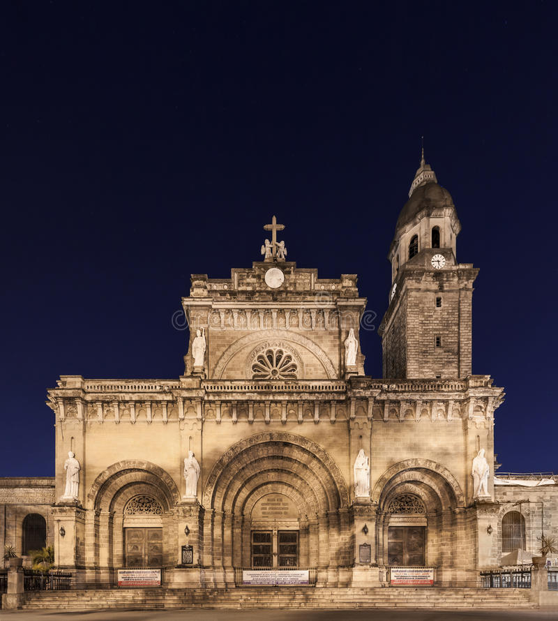 Manila Cathedral royalty free stock image