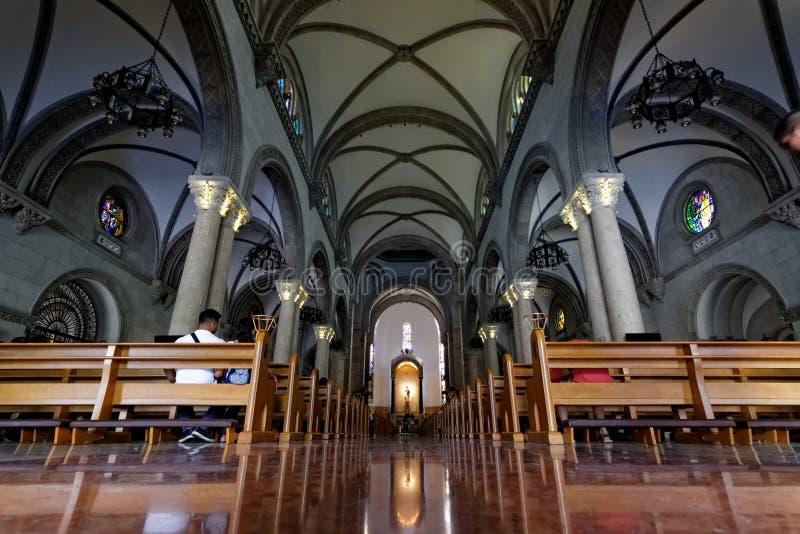 Manila Cathedral royalty free stock photo