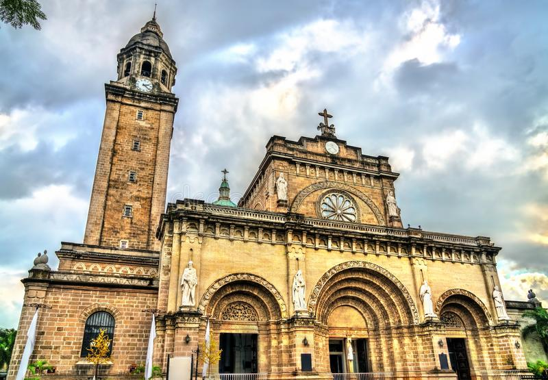 Manila Cathedral in Intramuros, the Philippines royalty free stock photography