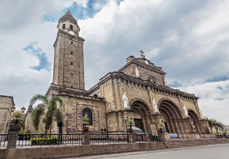 Manila domkyrka royaltyfri bild