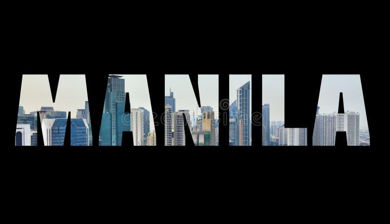 Manila, Filipinas imagem de stock